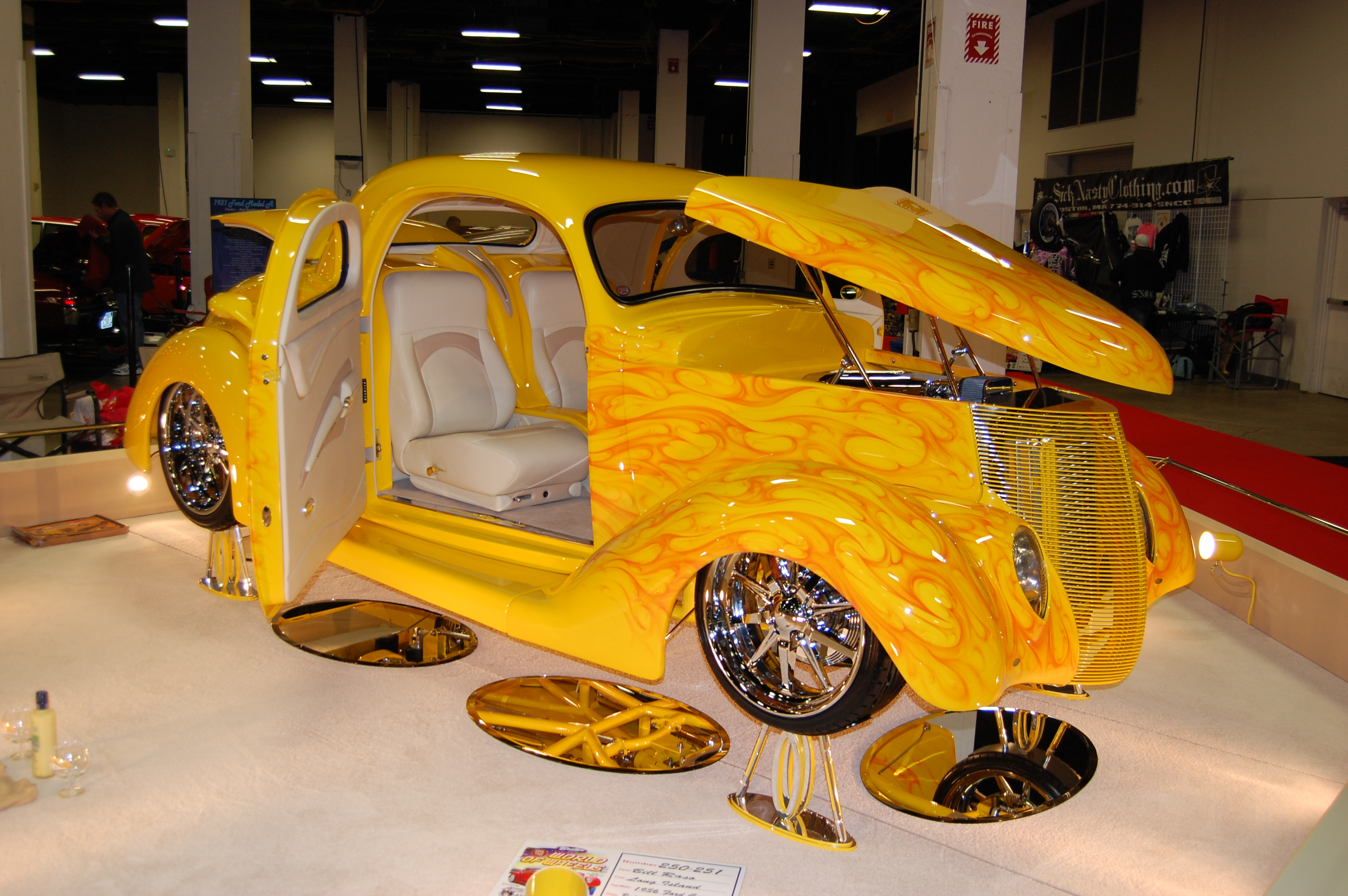World Of Wheels Boston >> DeFlorio's '54 Buick Takes Boston's Pilgrim Award | The ...