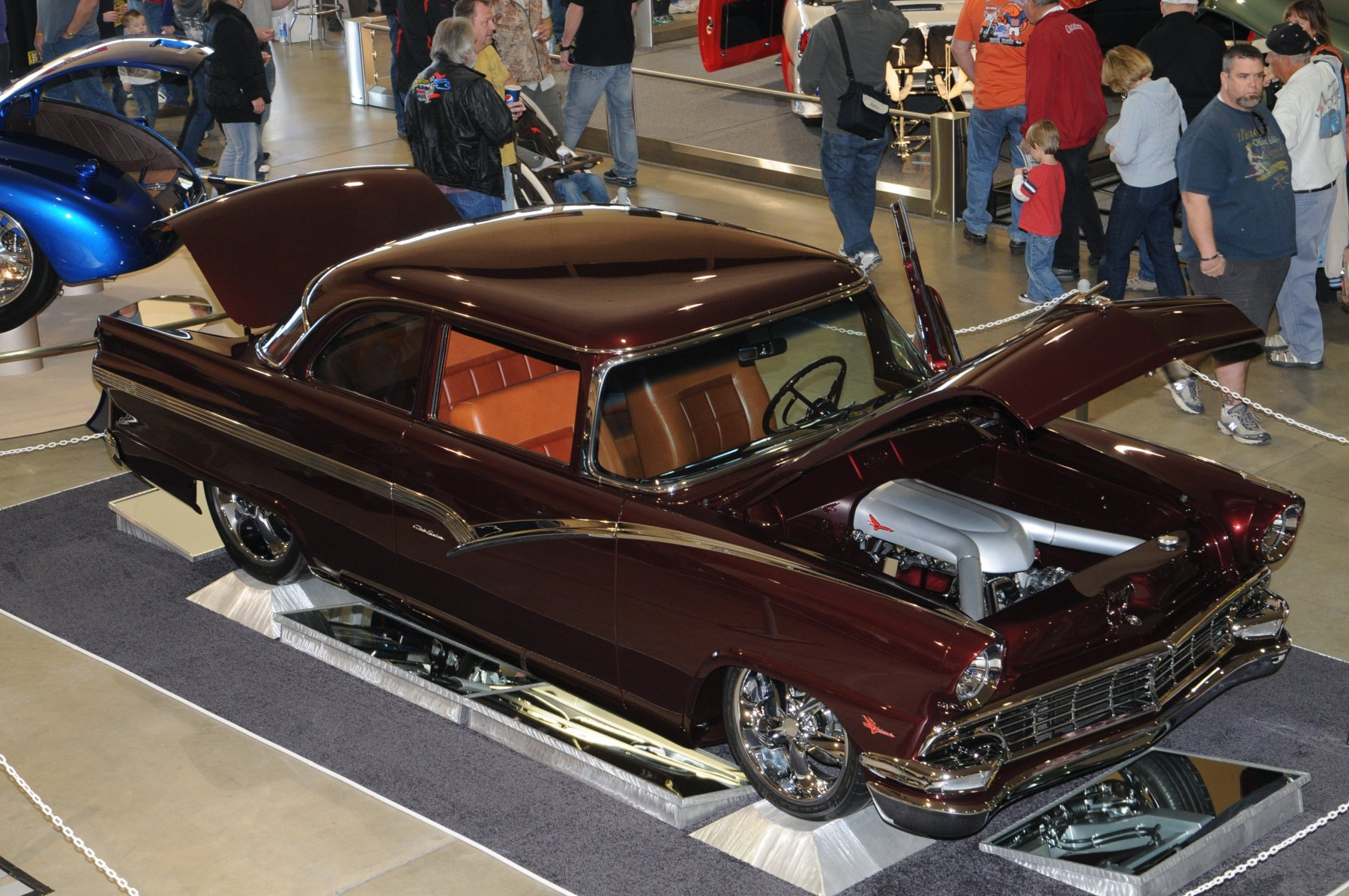 Halo Chevy Coupe Sweeps Goldmark Title At Boise Roadster Show - Boise car show father's day