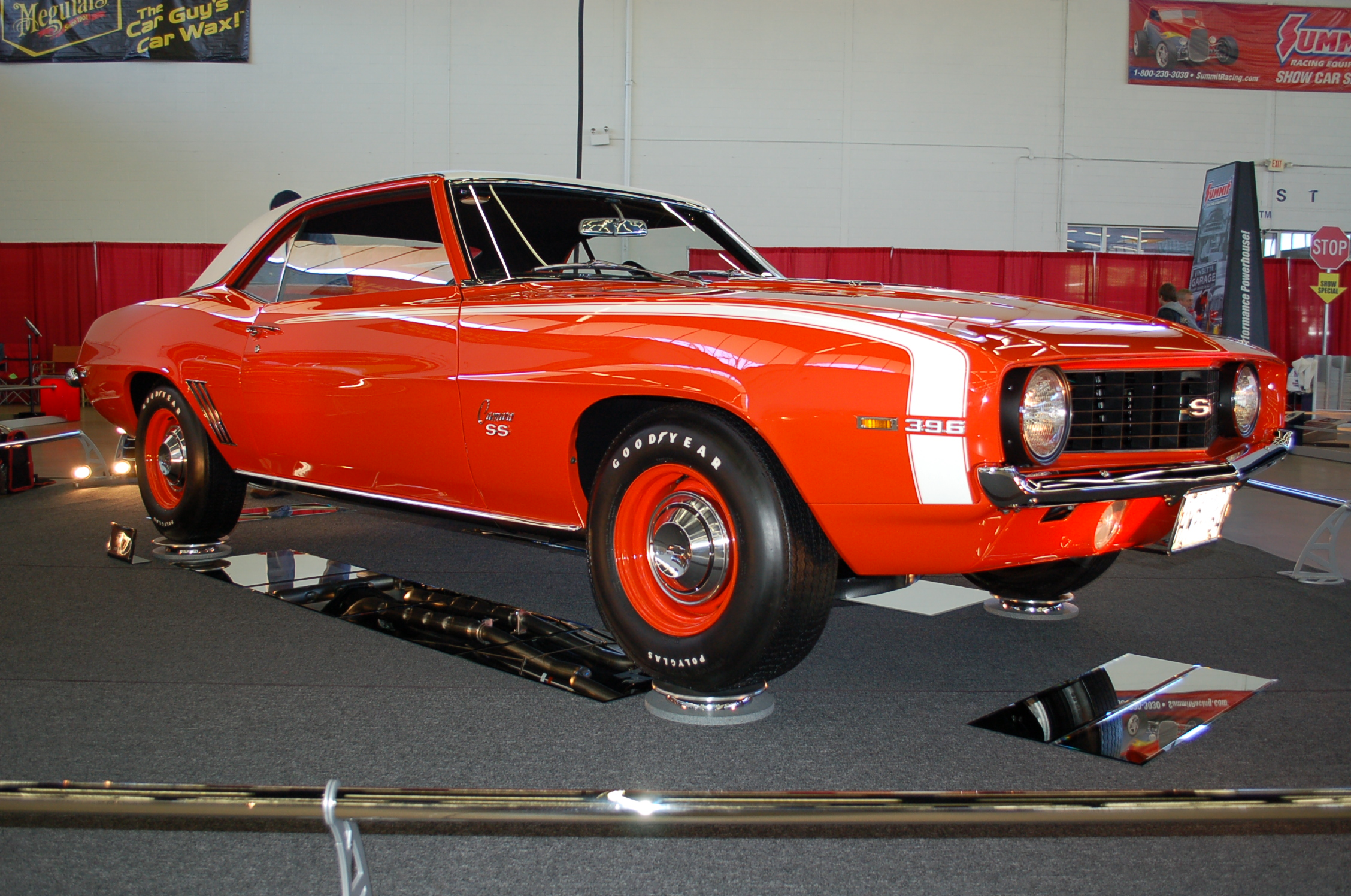 Mac Bernd's 1969 Chevy Camaro SS • Best Restored, Best in Class