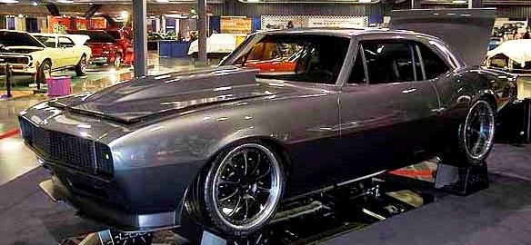 Scott Petersons 1967 Camaro O Best Street Machine Comp In Class