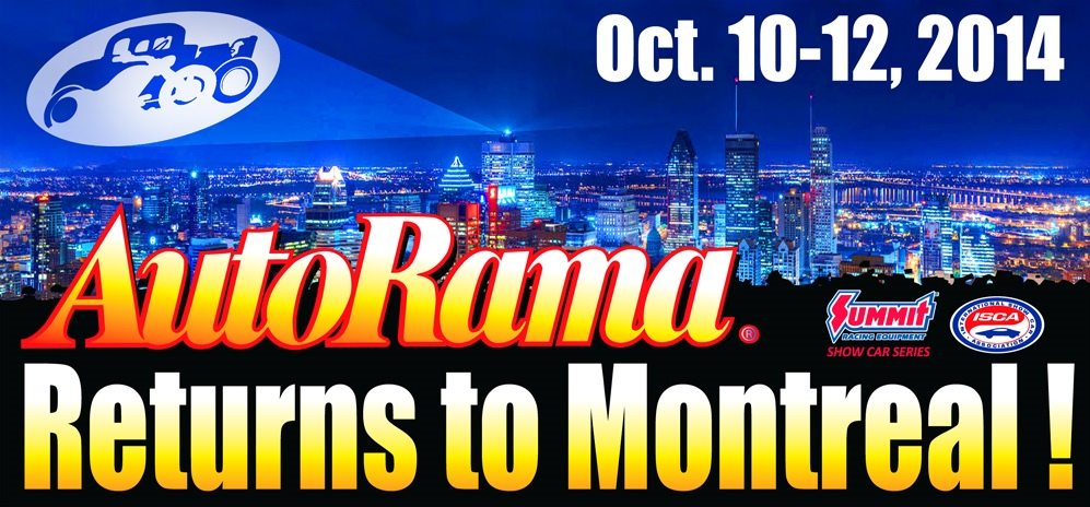 AutoRama Returns To Montreal!