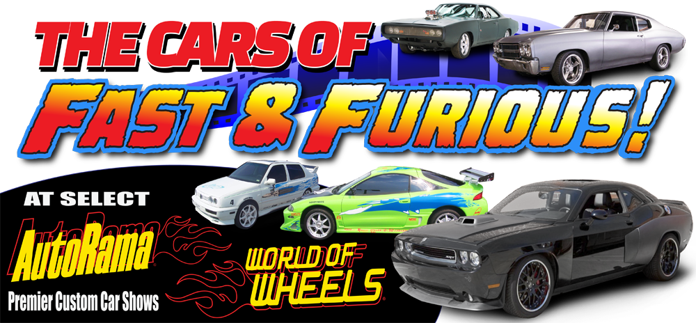 "The ""Fast And Furious"" Movie Vehicles Coming to a Show Near You!"
