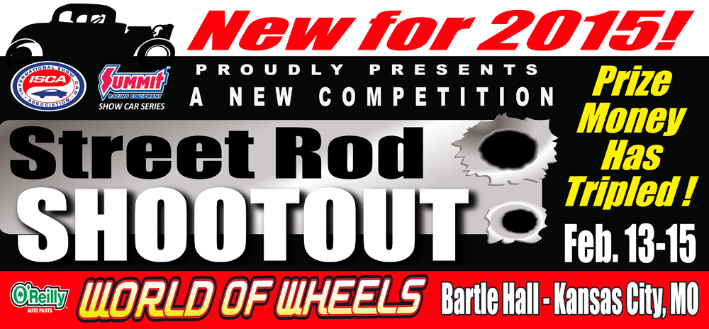 Kansas City World Of Wheels Ups the Ante For New Street Rod Shootout!