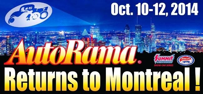 AutoRama Returns to Montreal!
