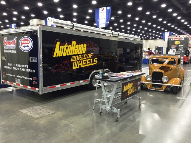 ISCA display at NSRA Louisville