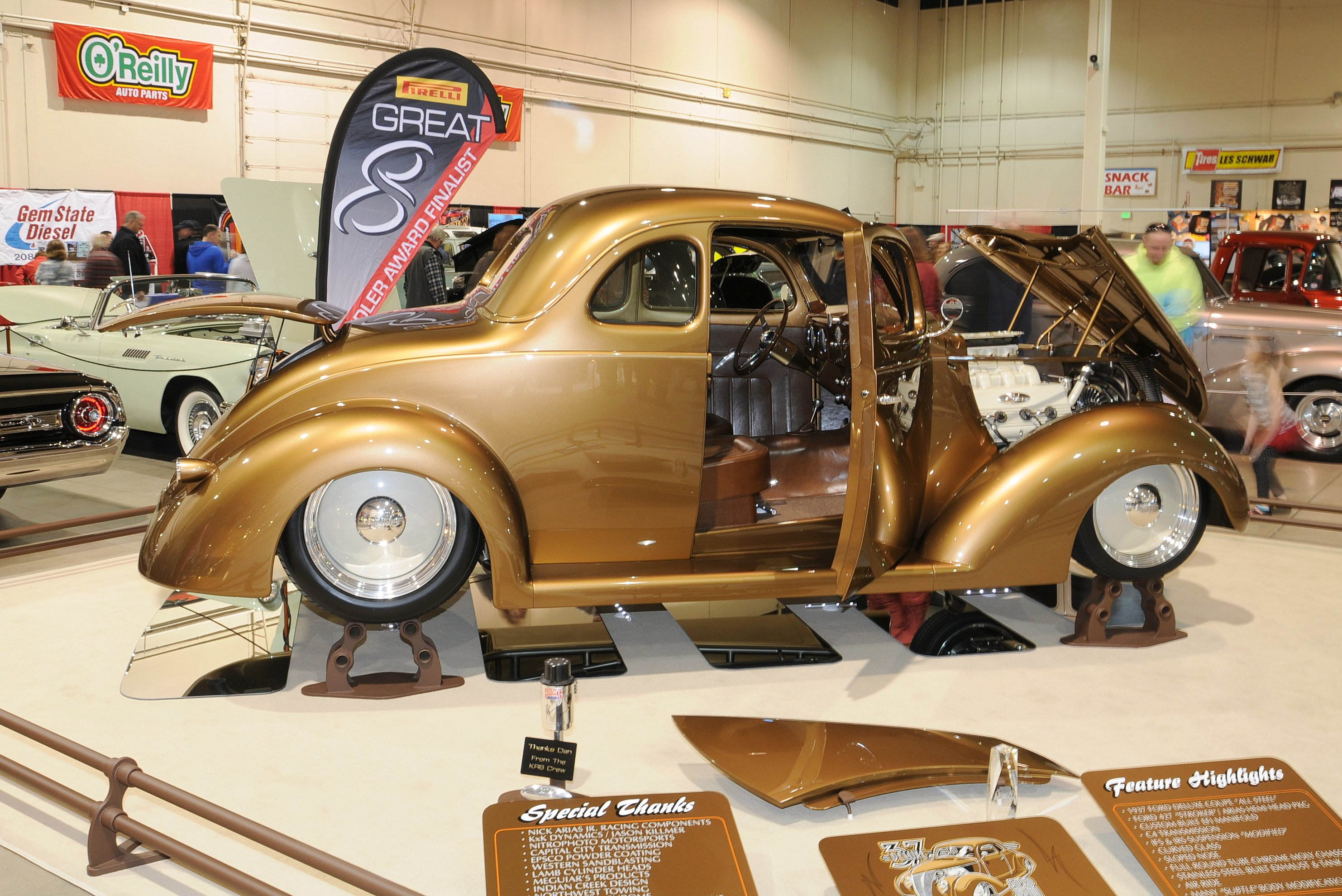 Kenny Welch's '37 Ford