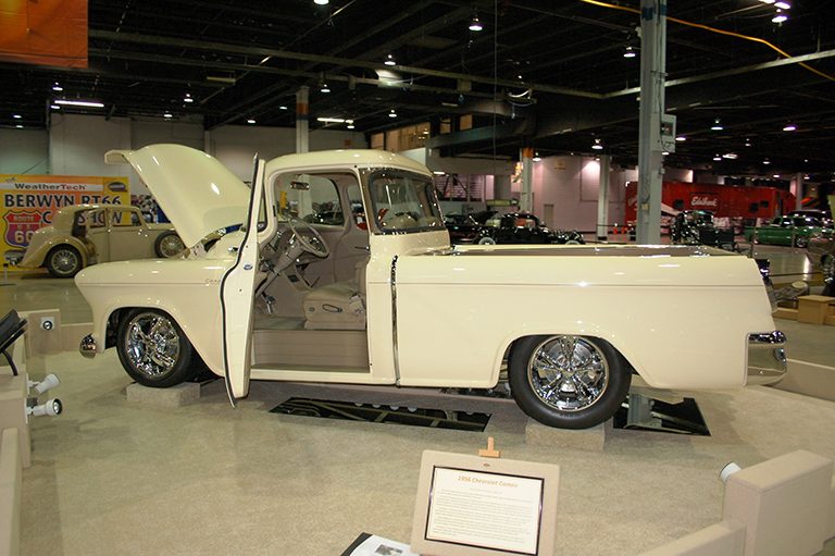 Ron & Linda Kitchens - Harper, TX - 1956 Chevrolet Cameo Pickup
