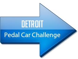 DETROIT PEDAL CAR CHALLENGE