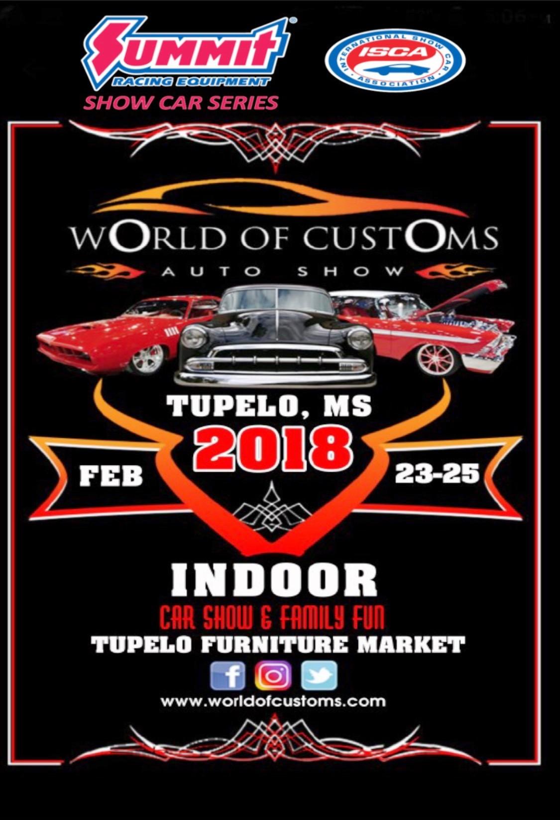 Tupelo Show Ad The International Show Car Association - Tupelo car show