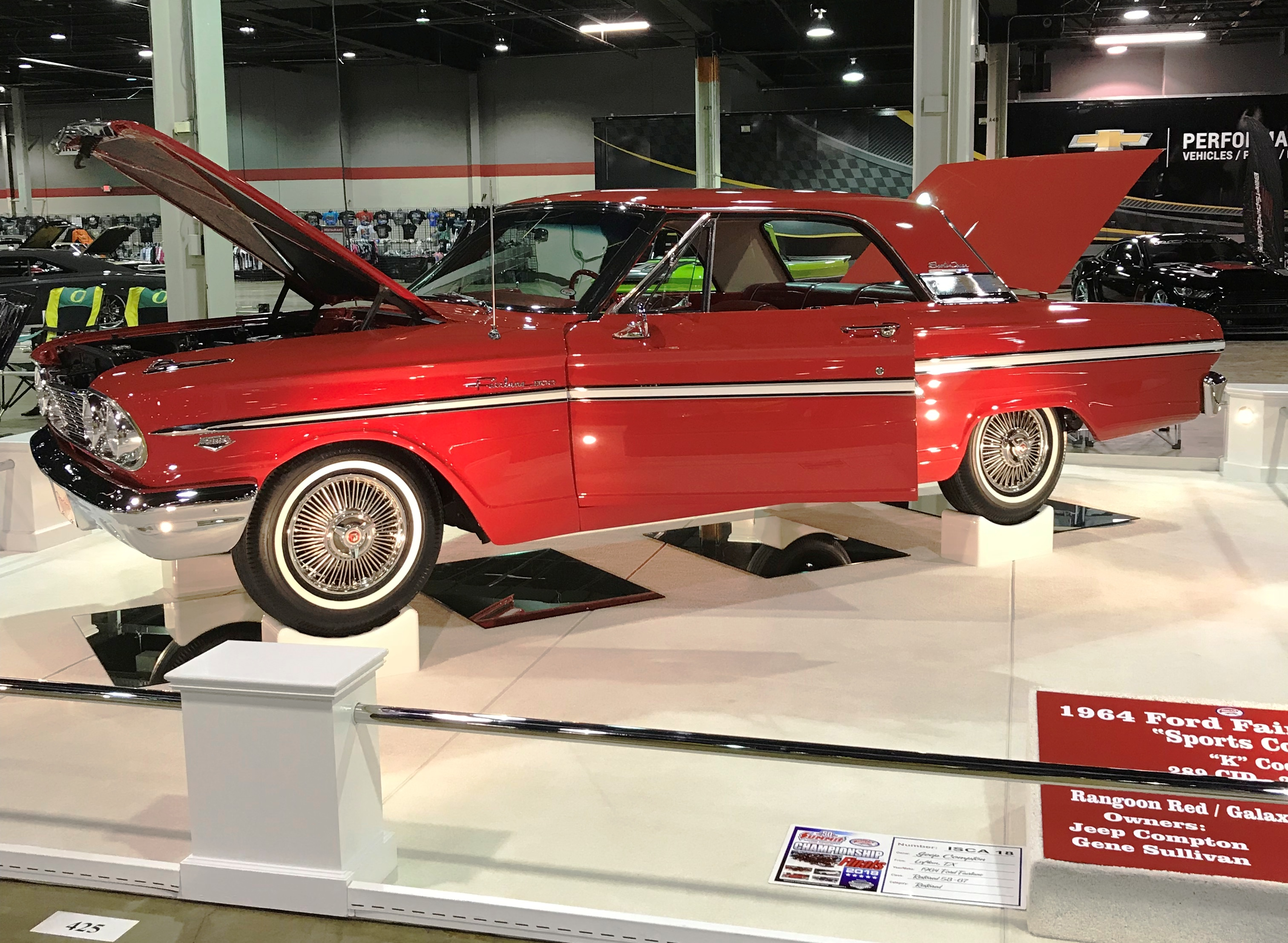 <p>2019 Restored Category Champion - Jeep Compton - Lufkin, TX - 1965 Ford Fairlane</p>