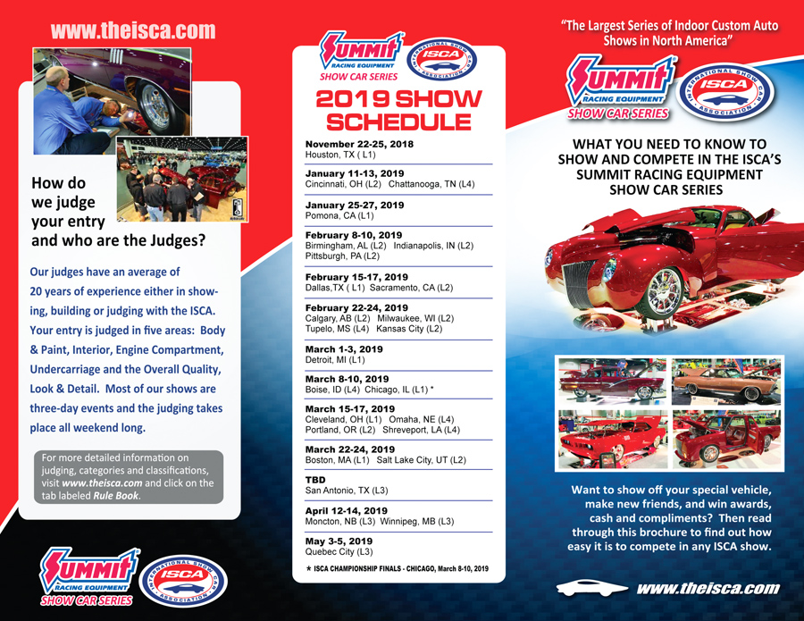 The International Show Car Association - Kansas city car show calendar