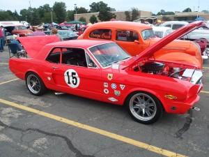 Ron Baker - 1965 Mustang - NSRA Nats North - Kalamazoo