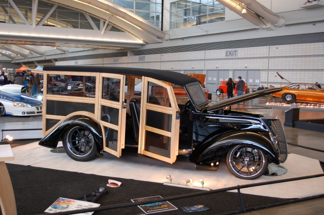 Terzichs Woody Wins Pittsburghs Steel City Award The - Pittsburgh custom car show